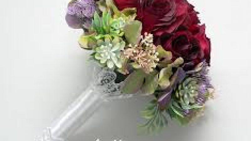 Különleges selyemvirág csokrok esküvőkre