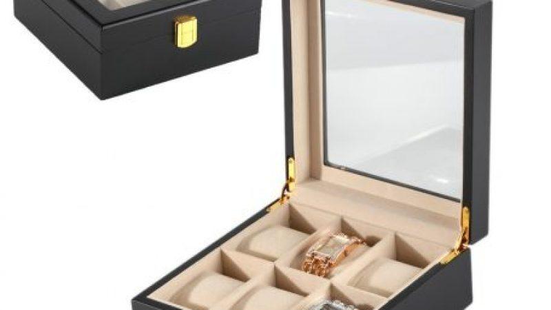 Óratartó doboz, utazáshoz praktikus kiegészítő